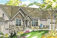Traditional Exterior - Front Elevation Plan #124-733