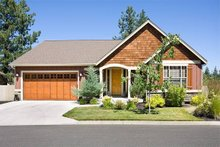 Dream House Plan - Craftsman Exterior - Front Elevation Plan #48-414