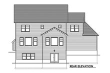 House Plan Design - Traditional Exterior - Rear Elevation Plan #1010-245