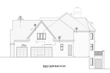 House Plan Design - European Exterior - Other Elevation Plan #20-2388