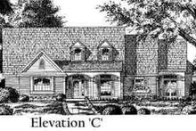 European Exterior - Other Elevation Plan #40-258