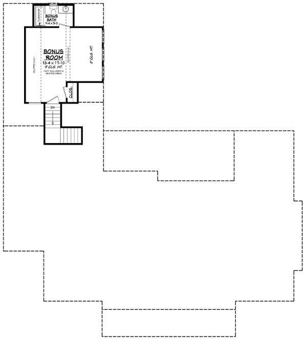 Southern Floor Plan - Other Floor Plan Plan #430-216