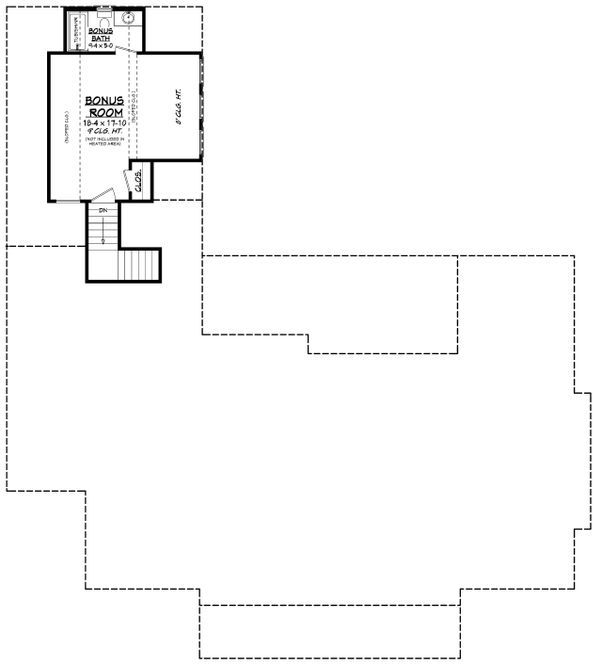 Southern Floor Plan - Other Floor Plan #430-216