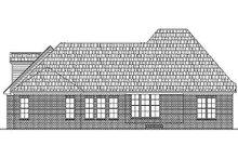 Home Plan - European Exterior - Rear Elevation Plan #430-33