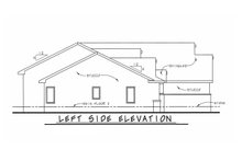 House Plan Design - Traditional Exterior - Other Elevation Plan #20-2417