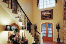 Traditional Interior - Entry Plan #437-56