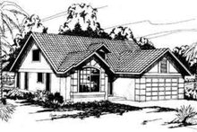 Traditional Exterior - Front Elevation Plan #124-222