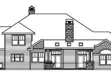 Dream House Plan - Craftsman Exterior - Rear Elevation Plan #124-778