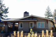 Craftsman Style House Plan - 2 Beds 2 Baths 1210 Sq/Ft Plan #895-94 Exterior - Front Elevation