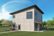 Modern Exterior - Rear Elevation Plan #1068-5