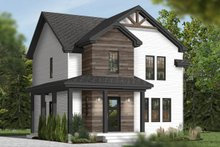 Country Exterior - Front Elevation Plan #23-2407