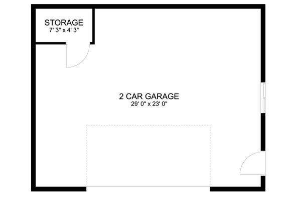 House Plan Design - Traditional Floor Plan - Main Floor Plan #1060-91