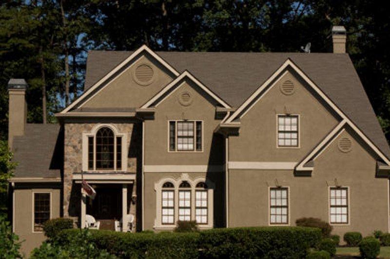 Dream House Plan - European Exterior - Front Elevation Plan #119-291