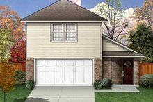 Dream House Plan - Traditional Exterior - Front Elevation Plan #84-109