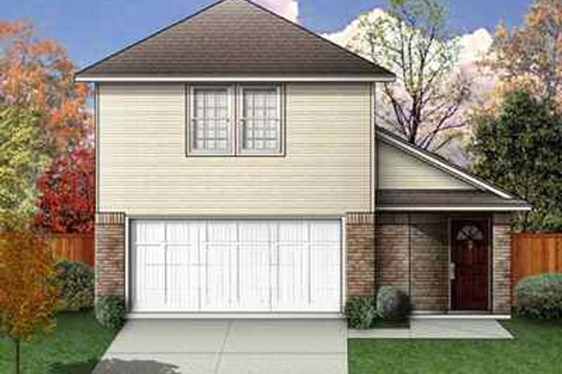 House Design - Traditional Exterior - Front Elevation Plan #84-109
