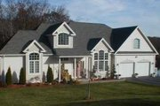 Traditional Style House Plan - 4 Beds 2.5 Baths 3363 Sq/Ft Plan #75-134 Exterior - Front Elevation
