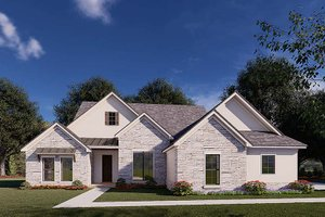 Traditional Exterior - Front Elevation Plan #923-176
