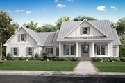 Farmhouse Style House Plan - 3 Beds 2.5 Baths 2428 Sq/Ft Plan #430-218 Exterior - Front Elevation