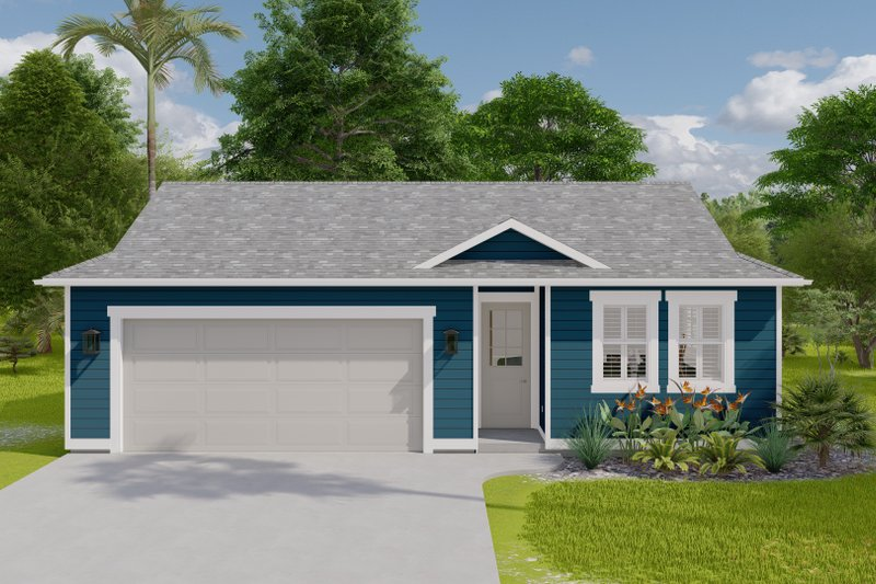 House Design - Traditional Exterior - Front Elevation Plan #1060-121