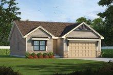 Craftsman Exterior - Front Elevation Plan #20-2405