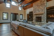 Craftsman Style House Plan - 4 Beds 5.5 Baths 4412 Sq/Ft Plan #892-28 Interior - Family Room