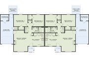 Traditional Style House Plan - 2 Beds 1 Baths 1012 Sq/Ft Plan #17-2430 Floor Plan - Main Floor Plan